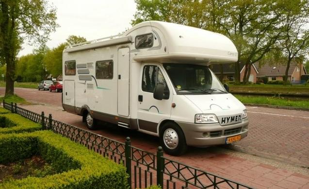 Noleggia questo hymer camper per 6 persone in hoofddorp da for Disegni di garage rv
