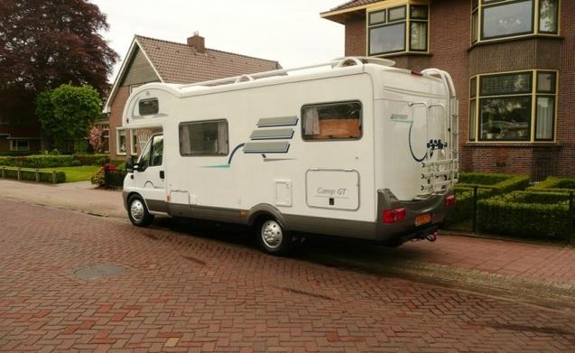 Noleggia questo hymer camper per 6 persone in hoofddorp da for Piani di garage rv staccati