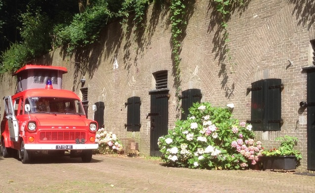 Klassieke Brandweerwagen-Camper