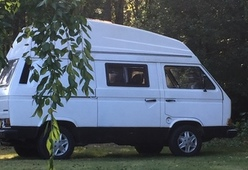 VW T3 retro wit – Leuke Retro VW T3 camperbus
