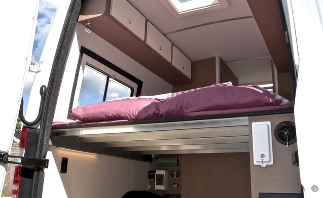Luxe, complete camperbus