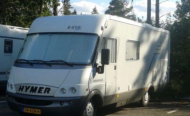 Miete Dieses Hymer Wohnmobil Mit 4 Leuten In Breda Ab Pro