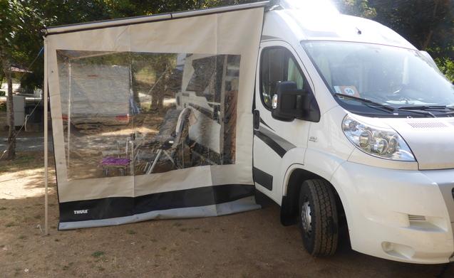 Buscamper Knaus Boxstar Road 540 – Camper van het jaar 2014, gekocht 06/2015.
