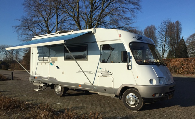 Hymer automaat!