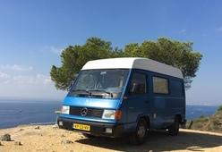 Mercedes MB100 – Mooie Mercedes Camper // Zelfbouw