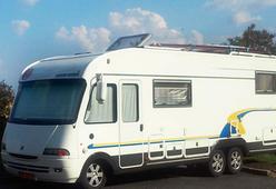 Eura Mobiel met C-rijbewijs! Alle luxe: airco, cruisecontrol en omvormer!