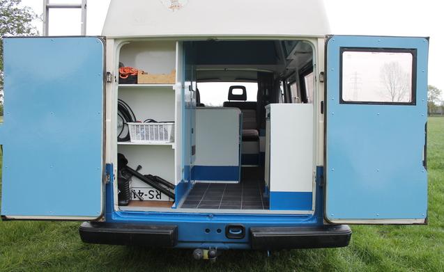 VW LT28-blauw – De enige echte Volkswagen LT 28 - De klassieke ruime camper