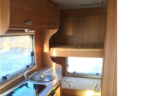 Luxe familie camper