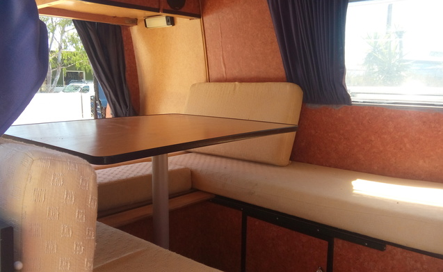 "Retro surfbus / buli ""All Inclusive"" Camperbus"