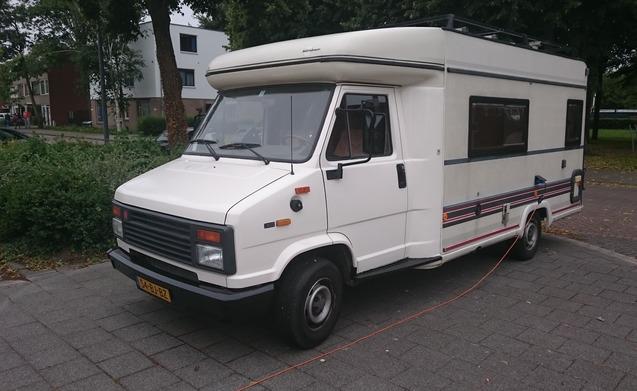 Bürstner Halfintegraal 1991