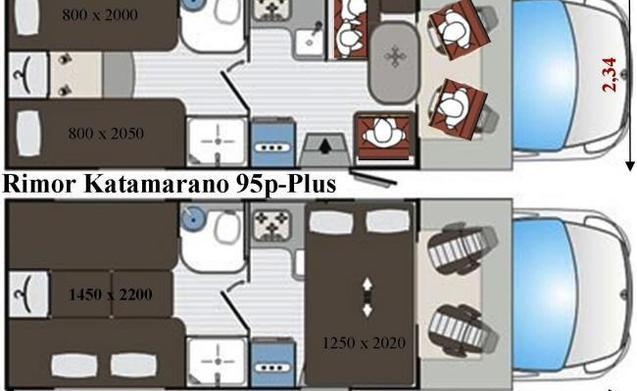 Semi-intergraal camper model 2017 200 gratis extra's