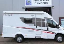 Super compacte en luxe camper met tv