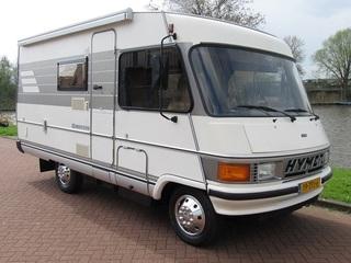 Onze camper – Te huur onze camper Hymermobile 564
