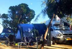 Volkswagen California T4 inclusief tent met slaapcabine