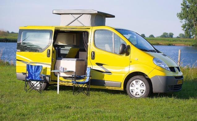 Buscamper ideaal voor twee personen met complete inventaris