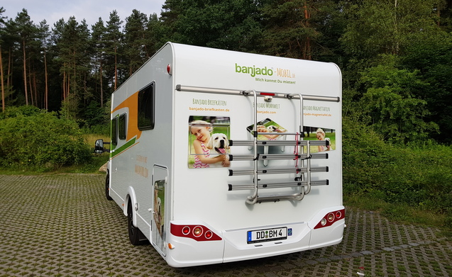 rent this fiat motorhome for 4 people in dresden from p d. Black Bedroom Furniture Sets. Home Design Ideas