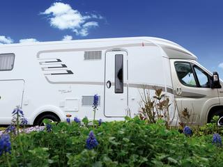 Nieuwe Hymer T678 Golden limited te huur voor een zalig reisavontuur