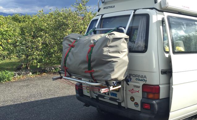 Volkswagen California T4 + voorzet tent met slaapcabine