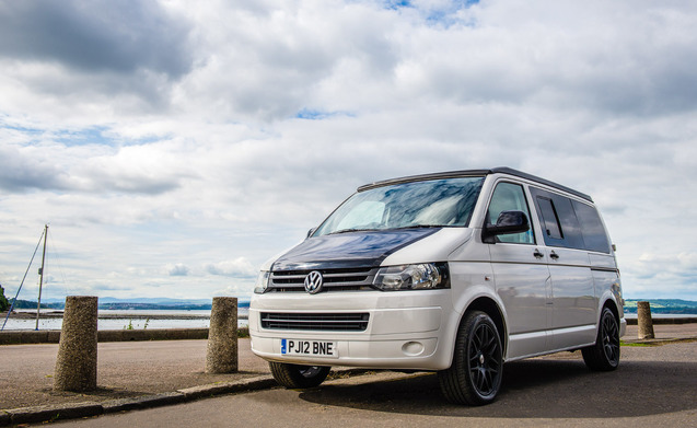 Stylish VW Campervan to Explore Scotland