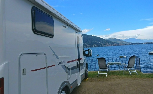New, luxurious and comfortable Adria motorhome 2P Automatic