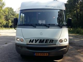 Hotel op wielen. Onze Hymer Star-Line 655.