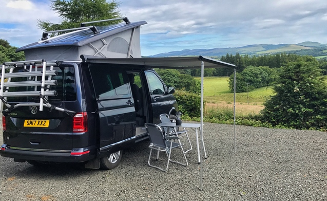 VW California 2017 for hire scotland