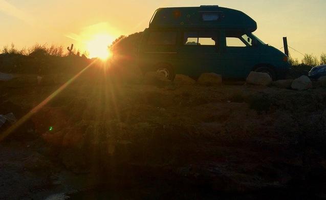 Westfalia Rent Smart Van in Puglia a bordo del fantastico Westfalia T4