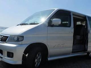 Um, the Bongo – Campervan ready for Adventure