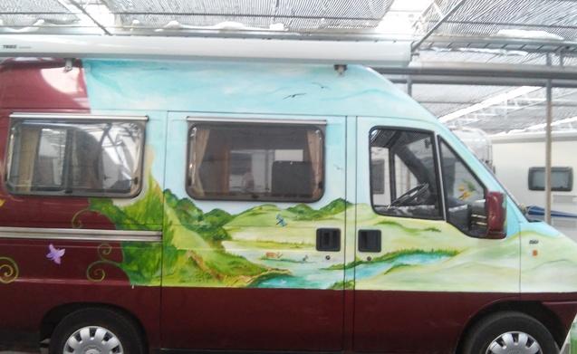Miete Dieses Fiat Wohnmobil Mit 2 Leuten In Zuilichem Ab