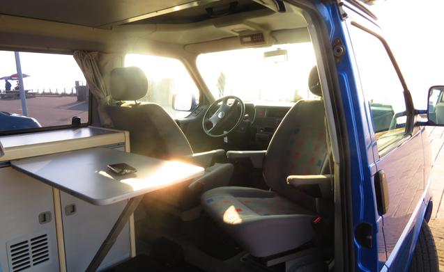 VW T4 4X4 Westfalia met 4G internet en standkachel