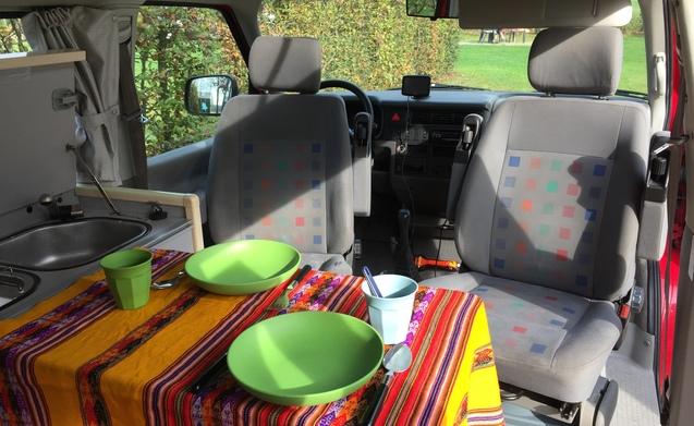 Buscamper: VW T4 California TDI