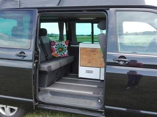 Multifunctionele Buscamper te huur voor 5 personen!
