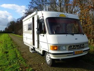 HYMER B564, zeer nette en frisse camper!