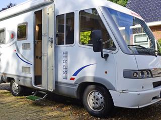 Camper 602 – 602 Dethleffs 5940 Intergraal voor 4 personen