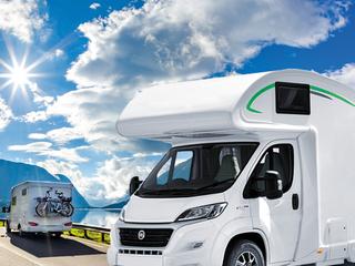Sammy – Wohnmobil mit 6 Schlafplätzen, Fahrradträger, Markise und Campingmöbel