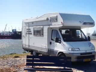 Fiat Hymer Camp 544 compacte indeling