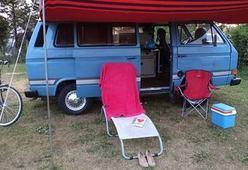 Geweldige Nostalgische Volkswagen Camper T3