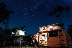 Overnachten op een camperplaats of camping?