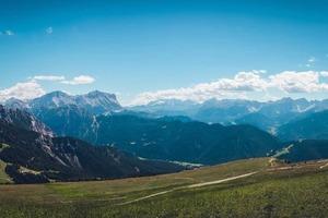 Routes en campings op de Alpe d'Huez