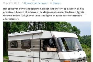 In de media, Verkeersbureaus.info: Campers met een gouden randje
