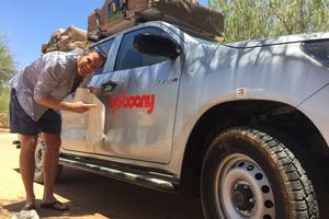 Reizen door Namibië met een Jeep