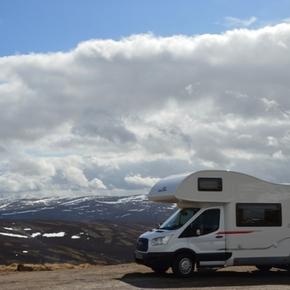 Camperplaatsen in Schotland