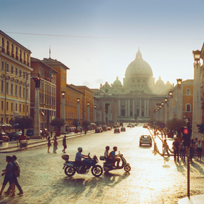 Milieusticker Italië
